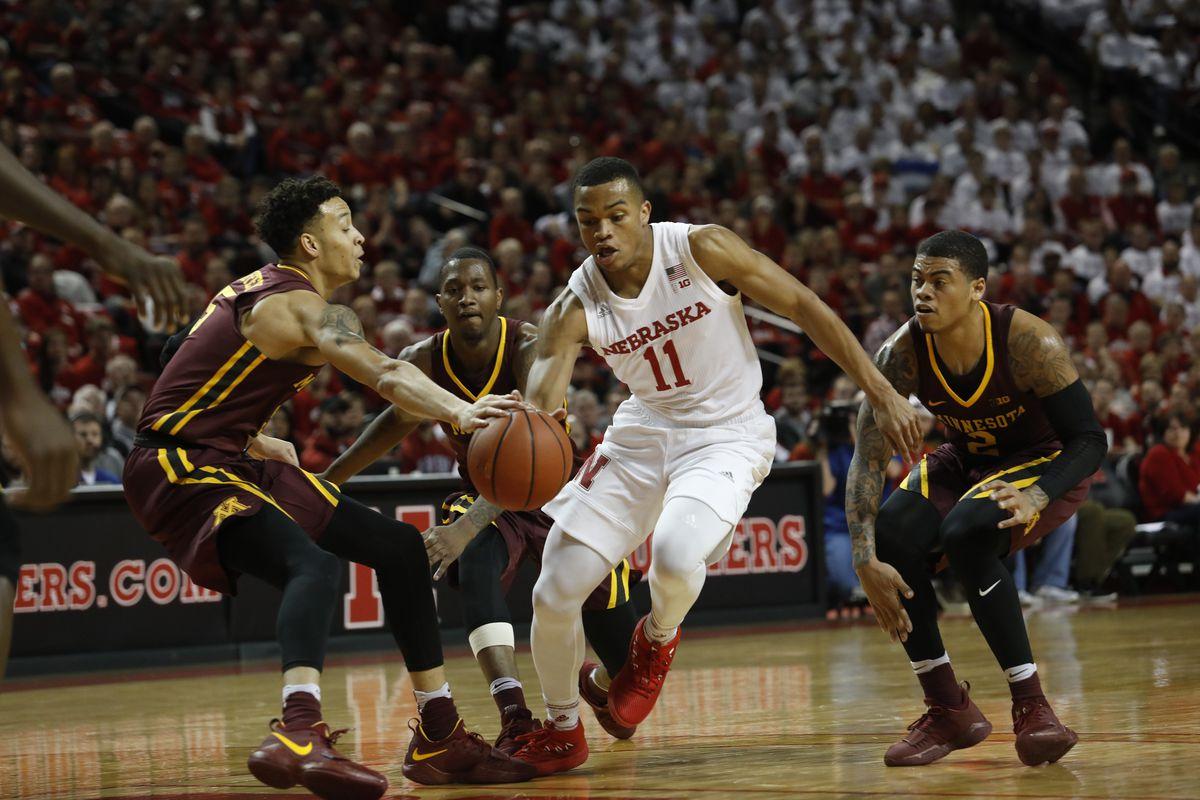 NCAA Basketball: Minnesota at Nebraska