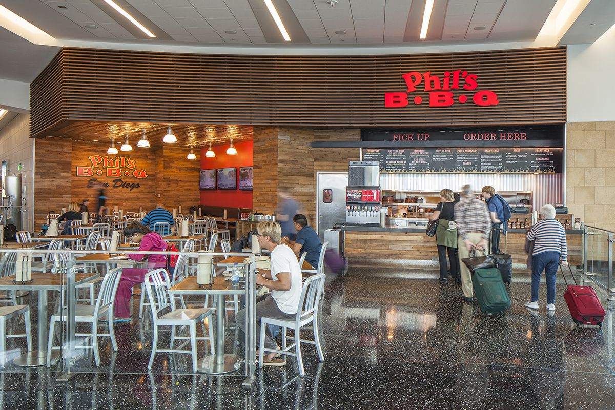 Where To Eat At The San Diego Int L Airport San Eater
