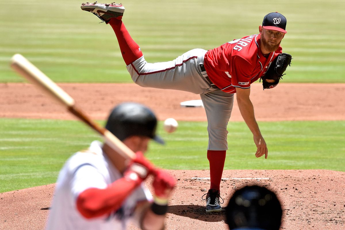 Nationals' Stephen Strasburg dominates Marlins in curve-heavy outing in 5-0 win...