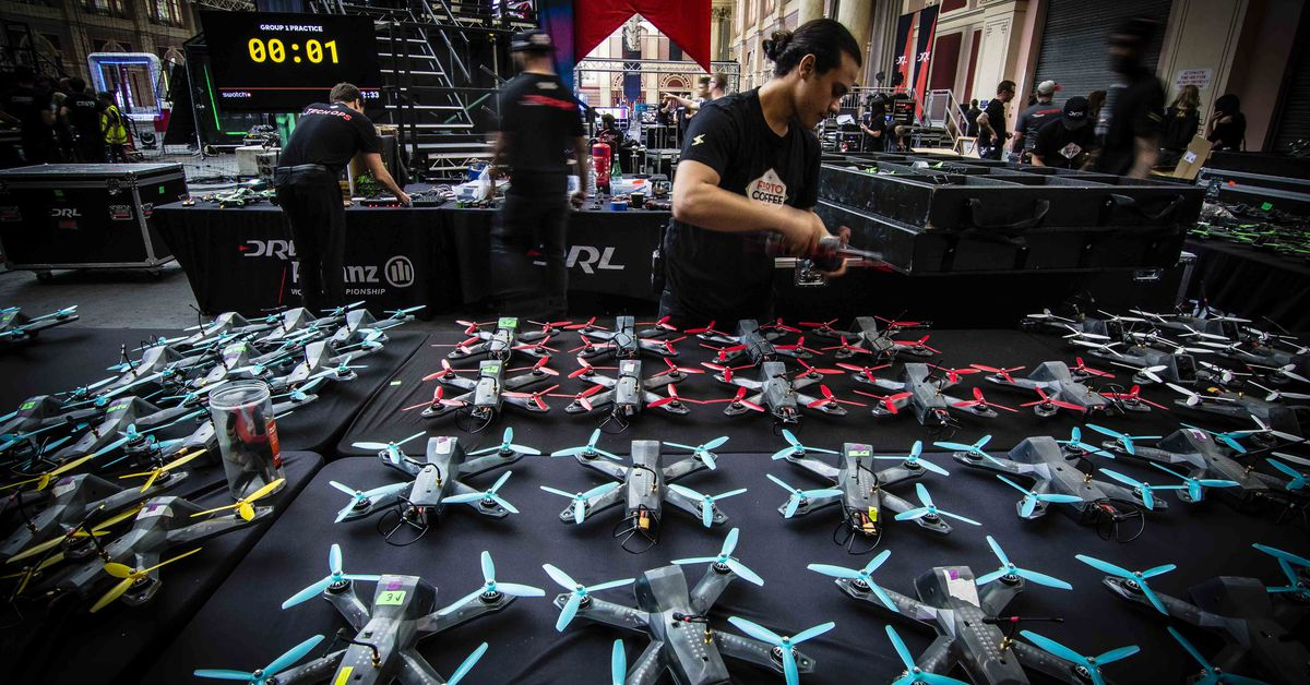 AI Drone Pilots will Challenge Humans in Competition Sponsored by Lockheed Martin