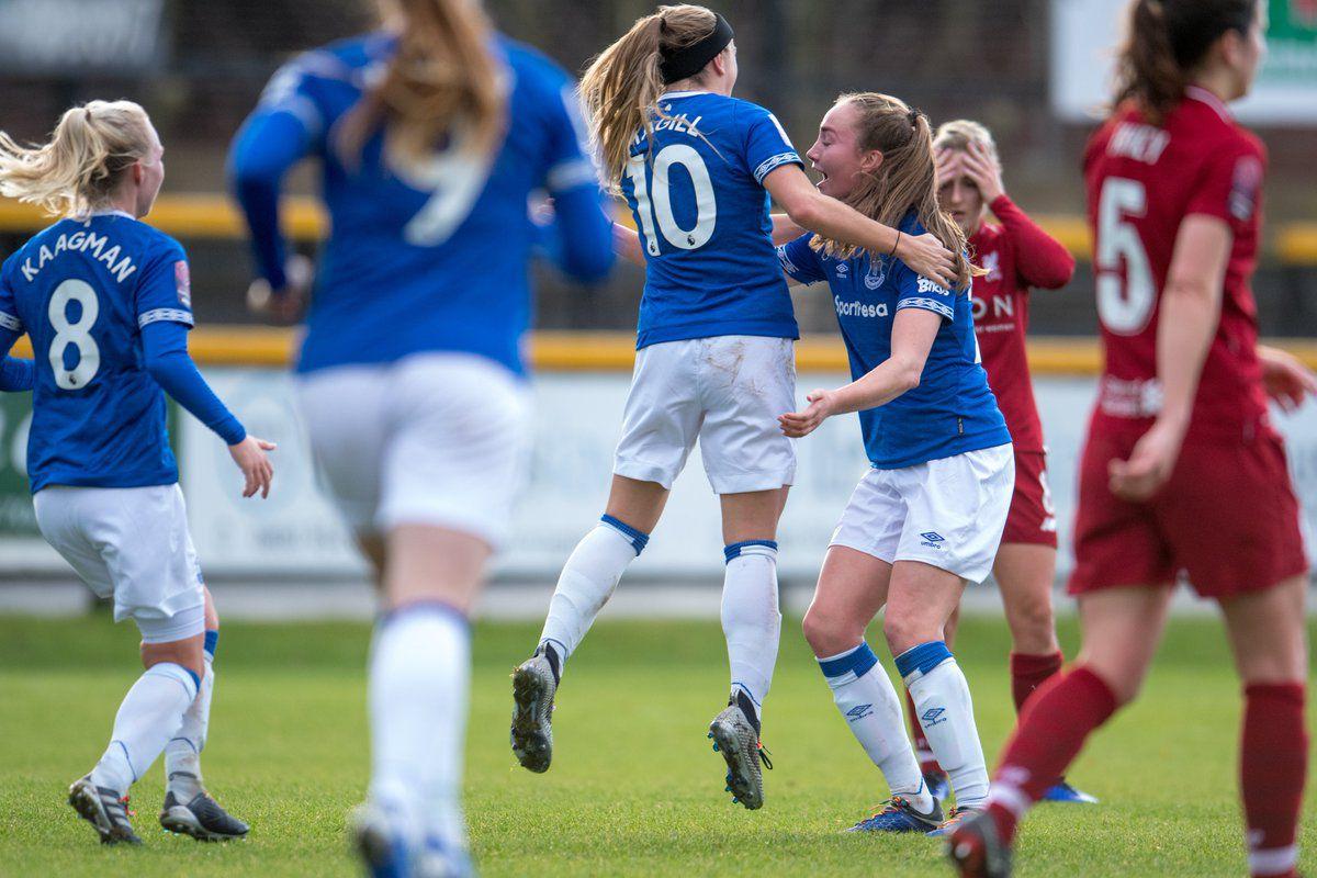 5e6133742eb Everton Ladies beat Liverpool Women in Merseyside Derby thriller ...