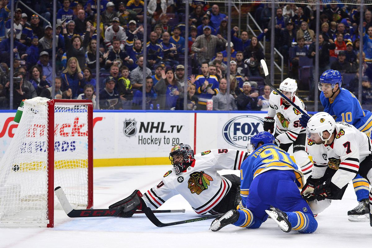 cda40d40f Behind Enemy Lines  Previewing the St. Louis Blues
