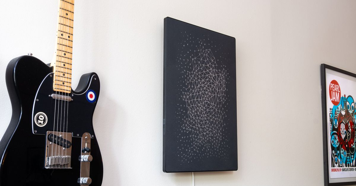 Ikea and Sonos picture frame speaker review: wall of sound
