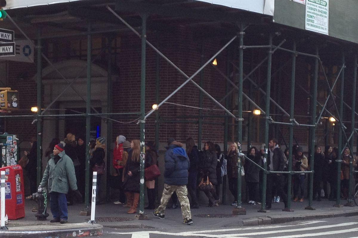 The Loeffler Randall Sample Sale Line Is a Bit of a Beast - Racked NY