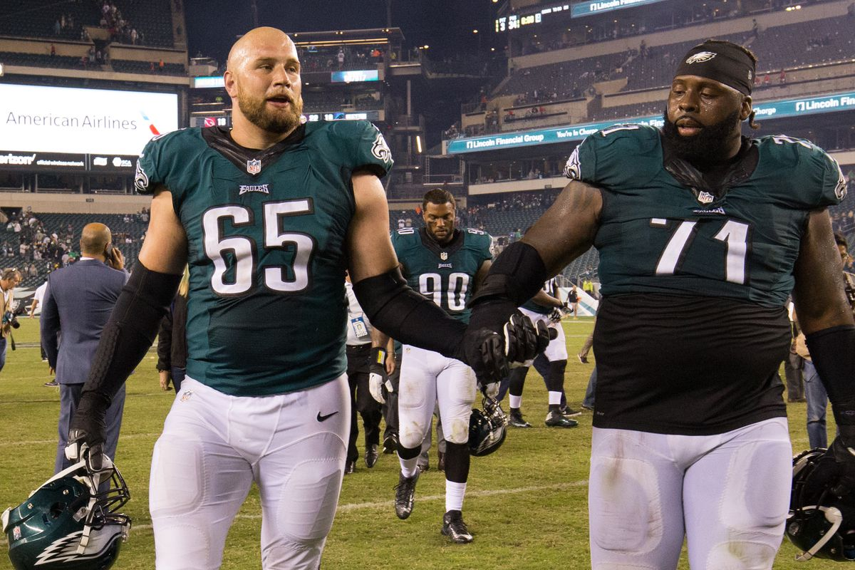Eagles News Lane Johnson says Philadelphia might have the best