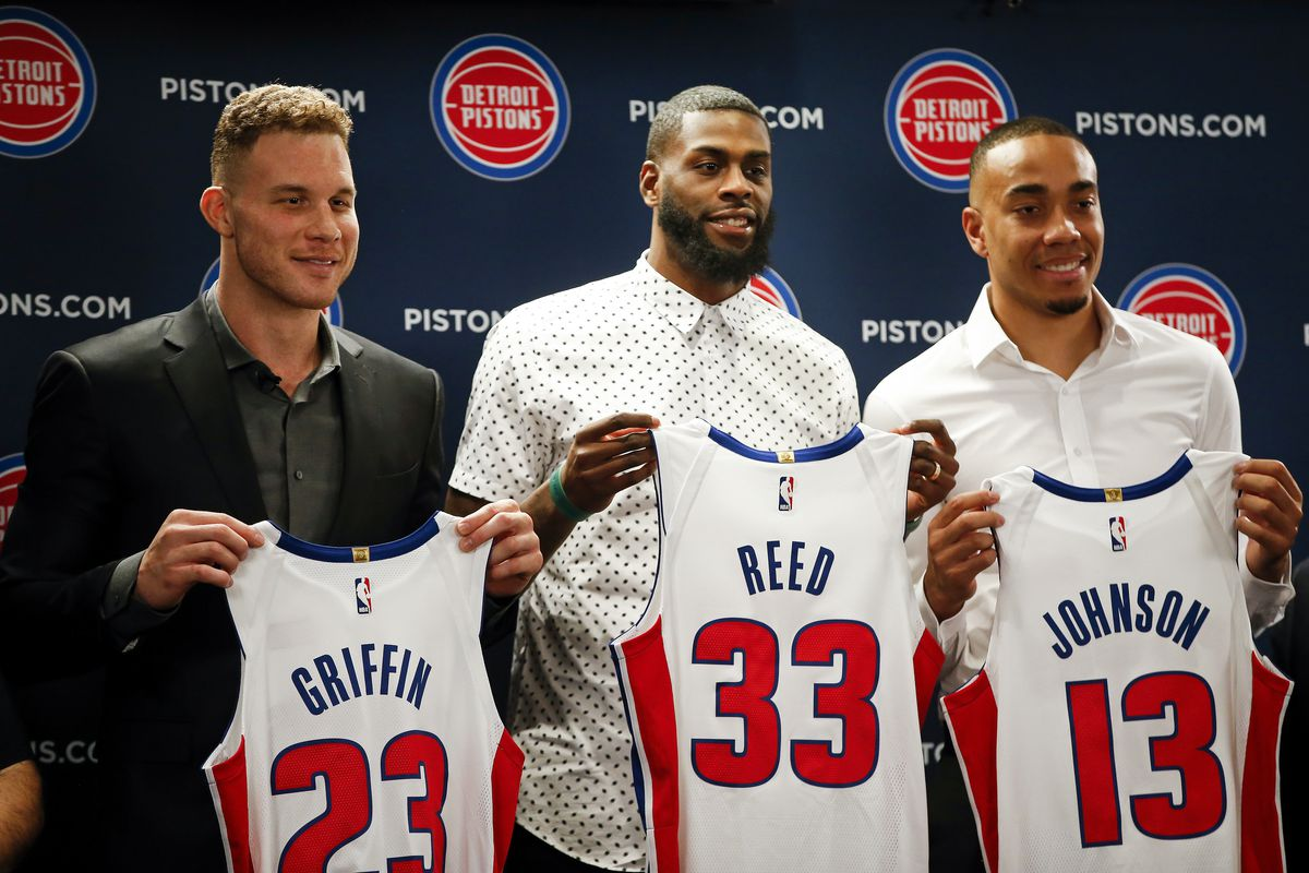Detroit Pistons Introduce Blake Griffin