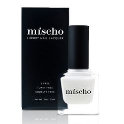 """Mischo Beauty """"Coco"""" Nail Lacquer, <a href=""""http://www.mischobeauty.com/collections/the-icons-collection/products/coco"""">$18</a>"""