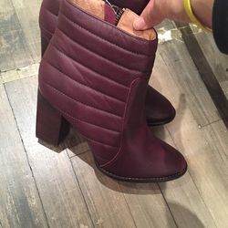 Ankle boots, $100