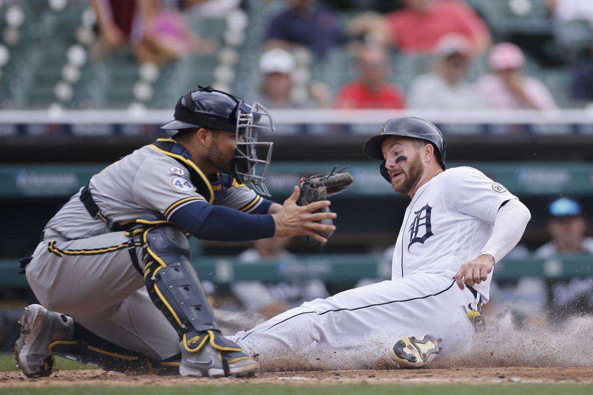 MLB: SEP 15 Brewers at Tigers