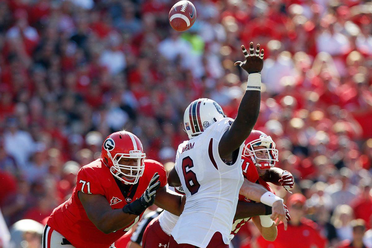 NFL Draft Risers DE Melvin Ingram South Carolina Field Gulls