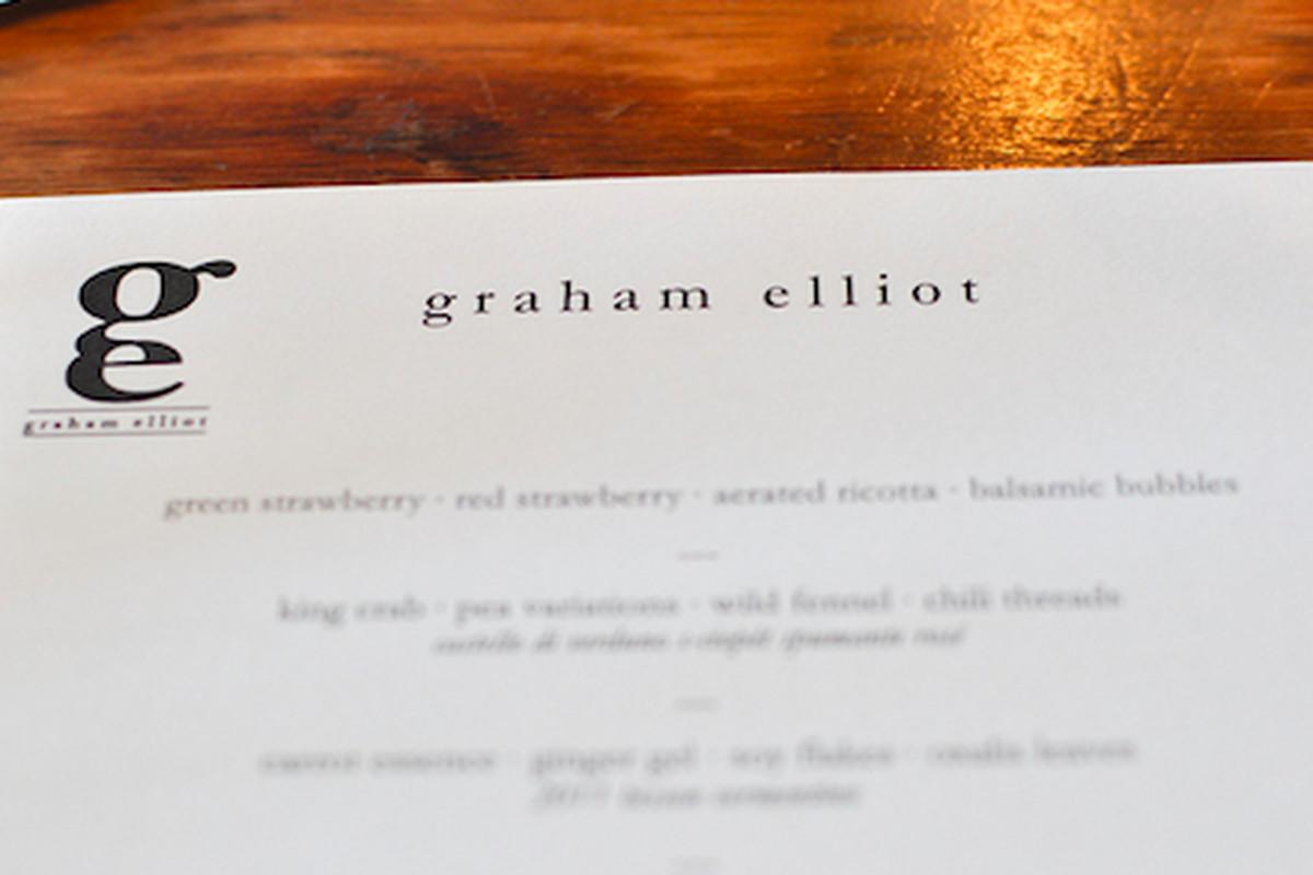 Graham Elliot at Son of a Gun
