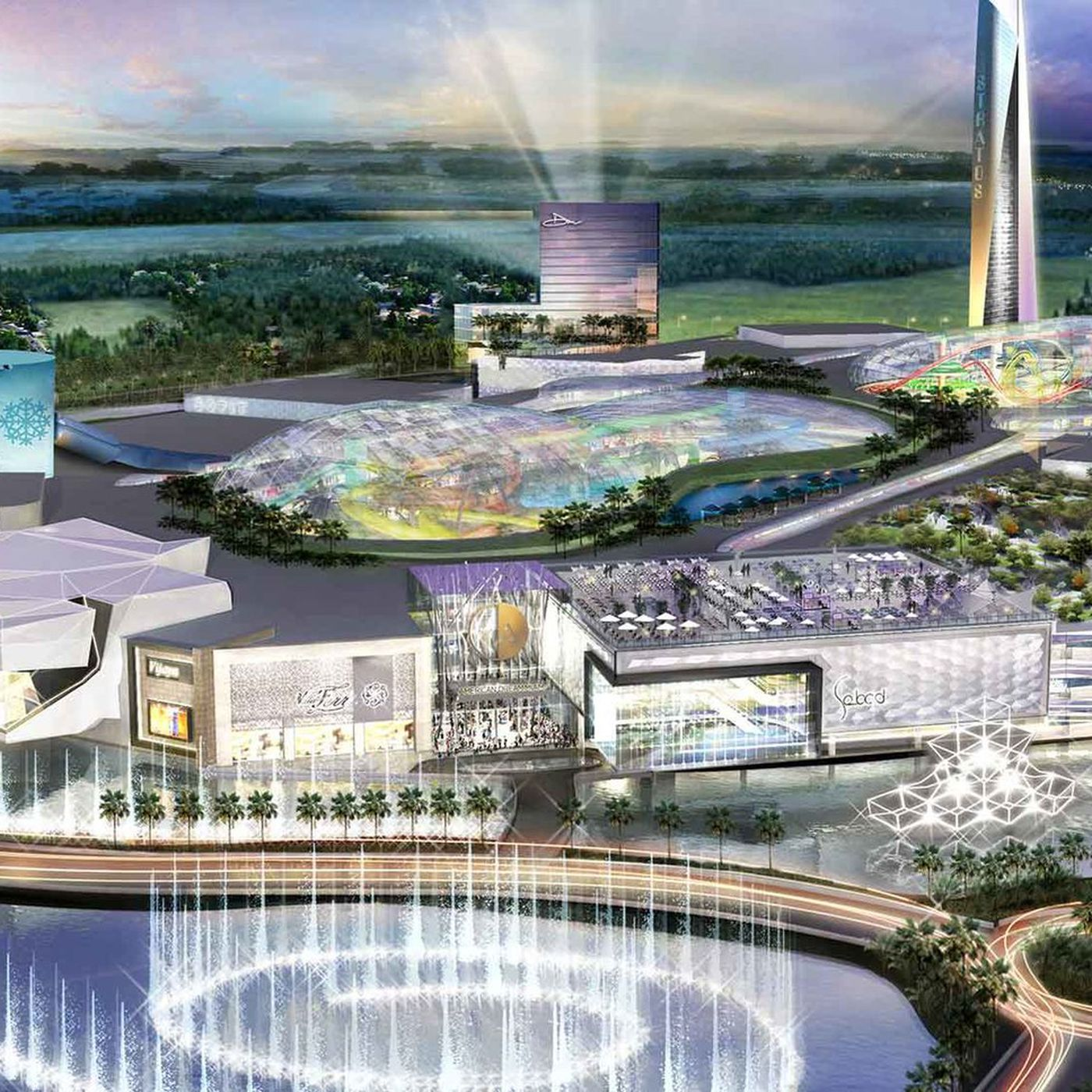 The country's largest shopping mall is coming to Miami - Curbed Miami