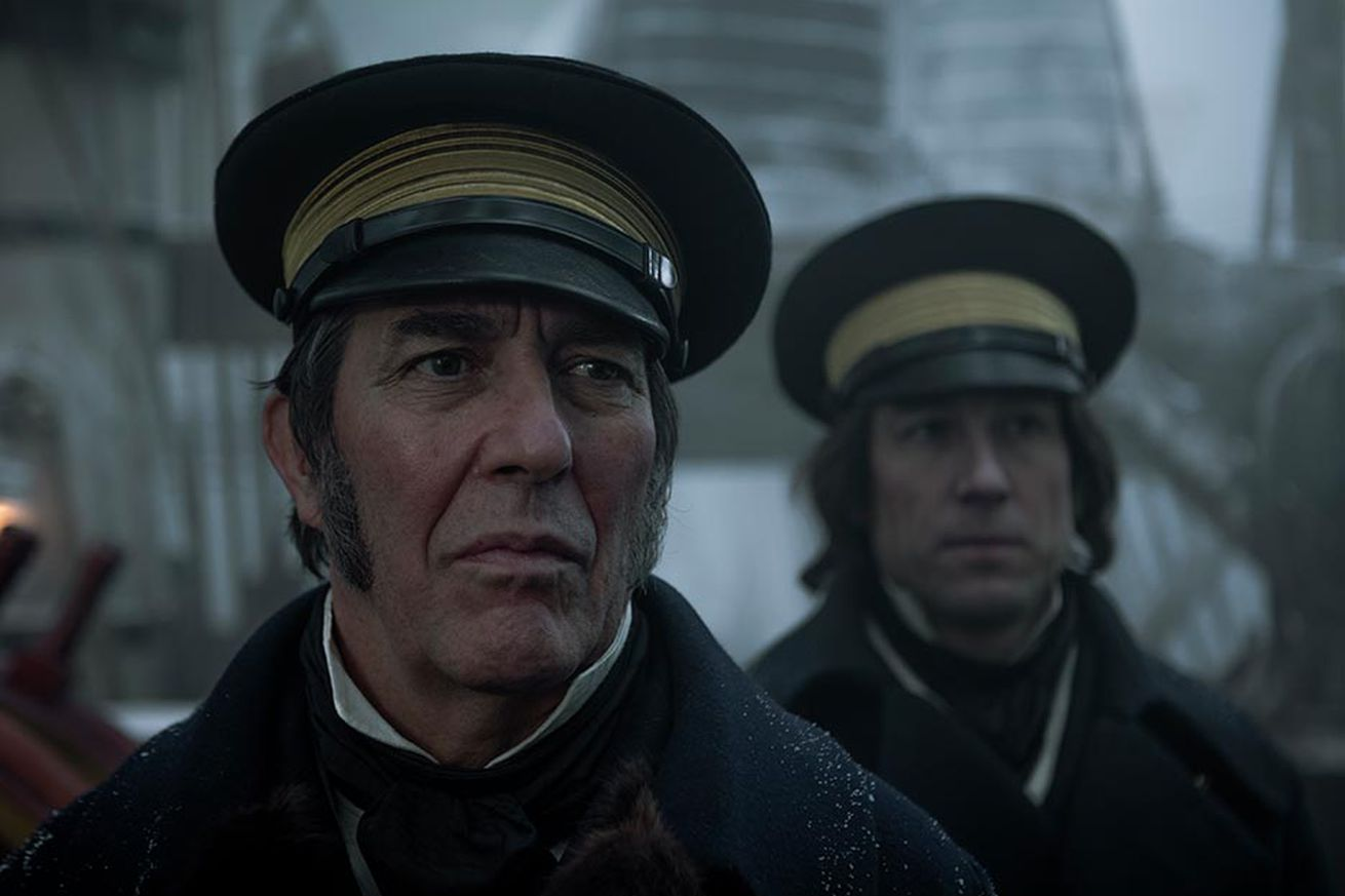 there s more to fear than the cold in the trailer for amc s new horror show the terror