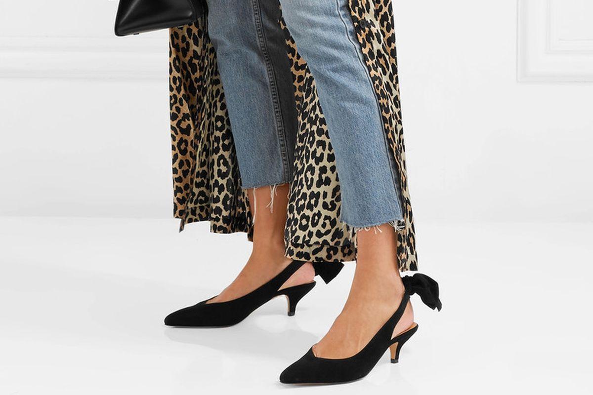 2d7ddf1001 Share Slingbacks Are the Best Transition Shoes. tweet share Reddit Pocket  Flipboard Email. Photo: Net-a-Porter ...