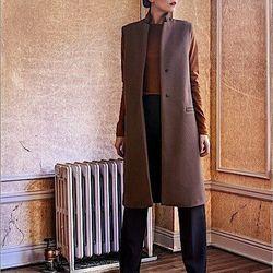 Mona long vest