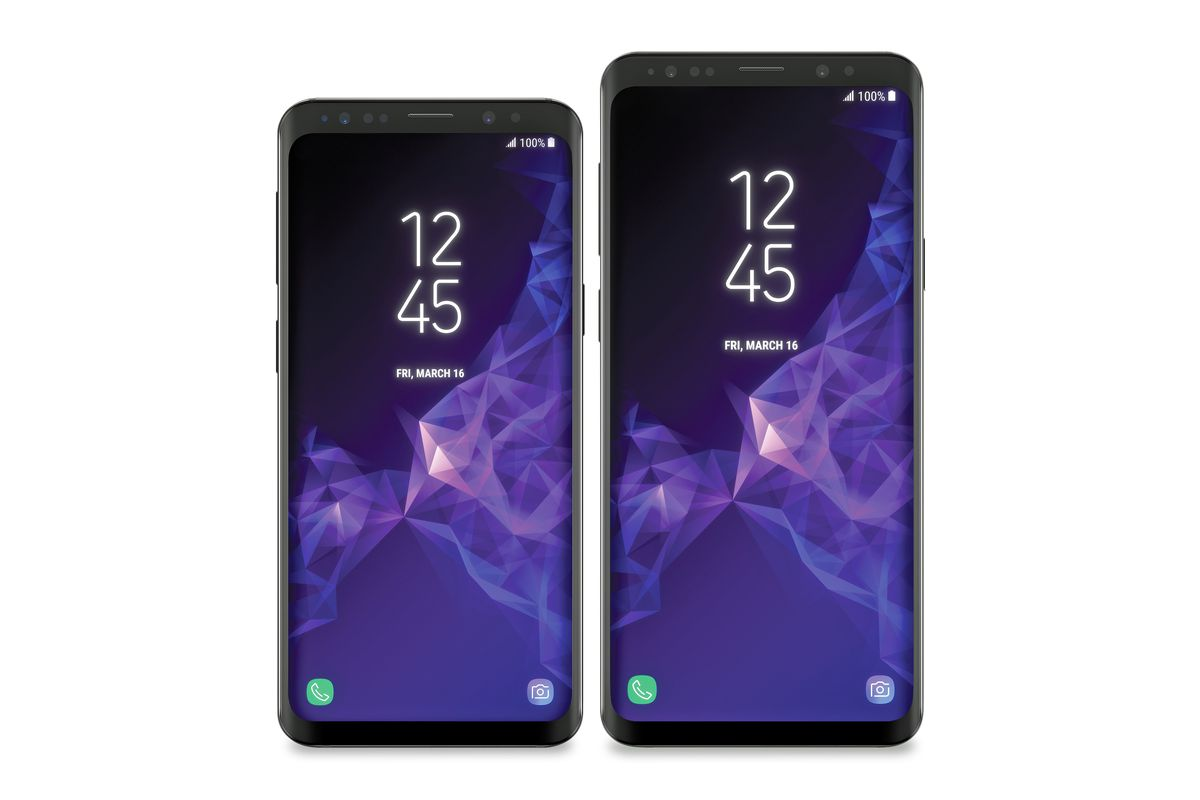 The Galaxy S9 leak looking lovely in lilac