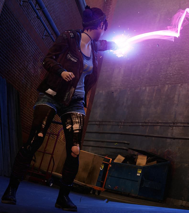 Infamous: First Light review: keep it burning | Polygon