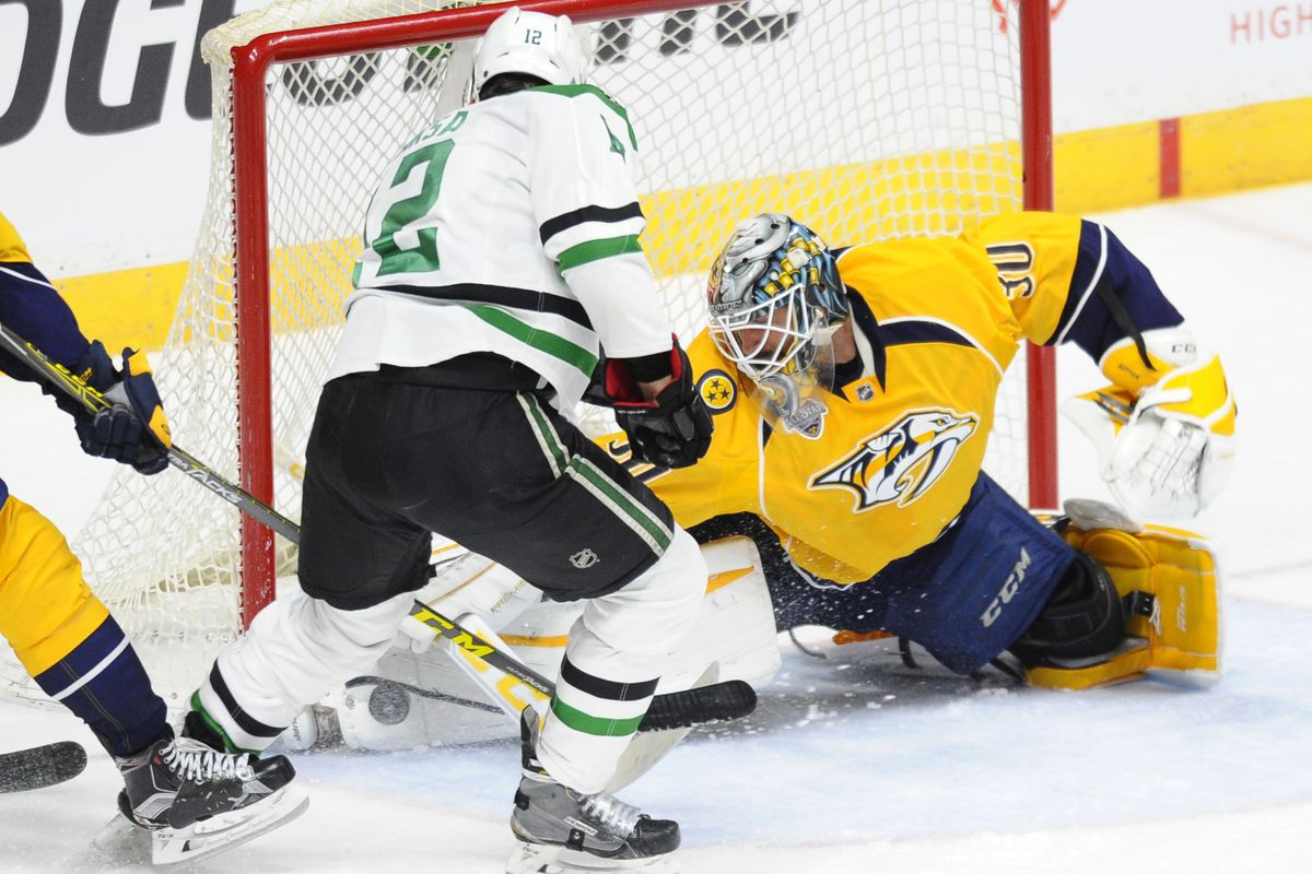 Thisclose to a goal, Faksa has stepped up in the wake of Spezza's injury