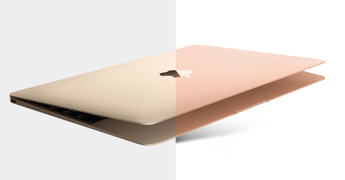 Apple updates the 12-inch MacBook colors to match the new gold Air ...