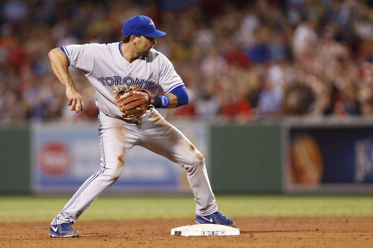 Mark DeRosa playing second base.