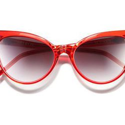 """Wildfox """"La Femme"""" sunglasses, <a href=""""http://shop.nordstrom.com/s/wildfox-la-femme-sunglasses/3670393?origin=category-personalizedsort&contextualcategoryid=0&fashionColor=Candy+Red&resultback=6097&cm_sp=personalizedsort-_-browseresults-_-1_17_A"""">$169<a/"""