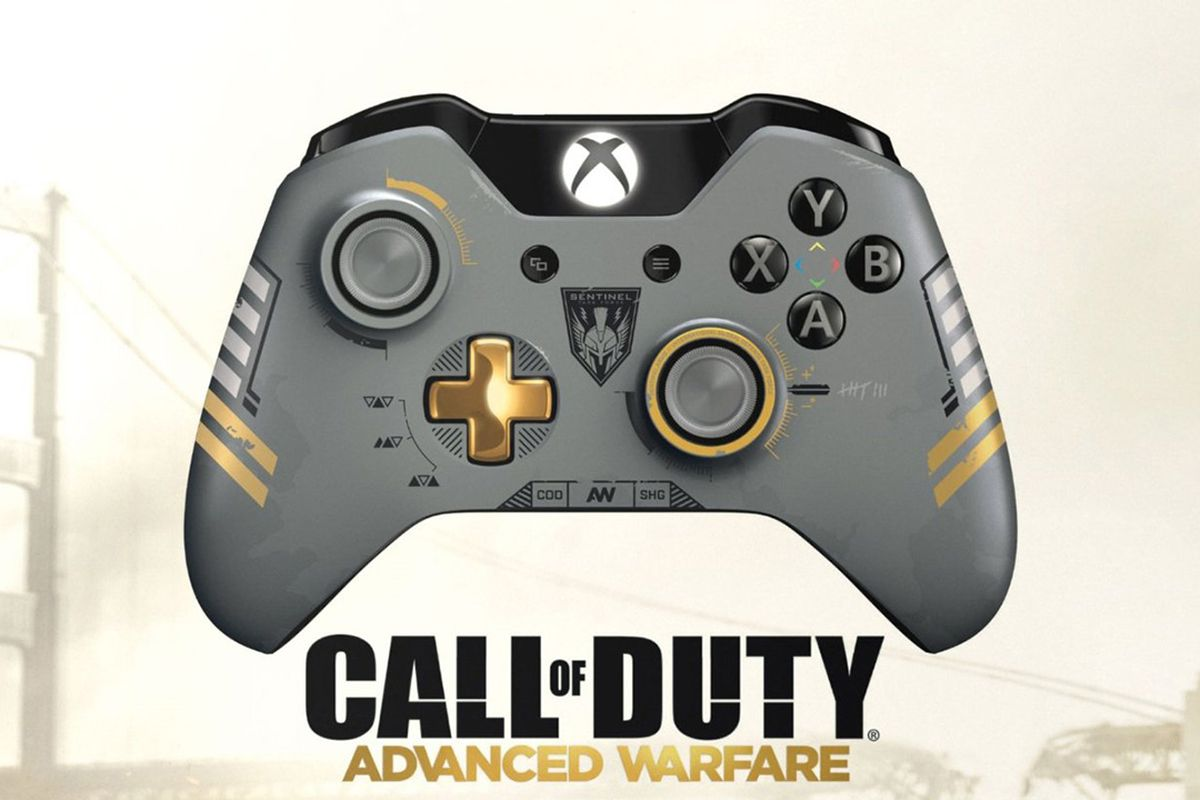 e7ac9c50839 Call of Duty  Advanced Warfare-branded Xbox One controller is pricey. New  ...