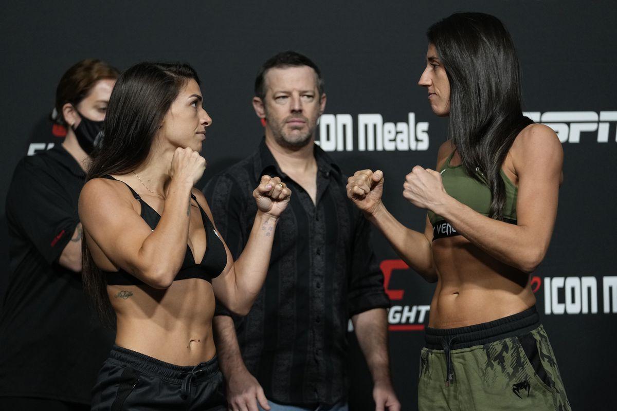 UFC Fight Night: Dern v Rodriguez: Weigh-in