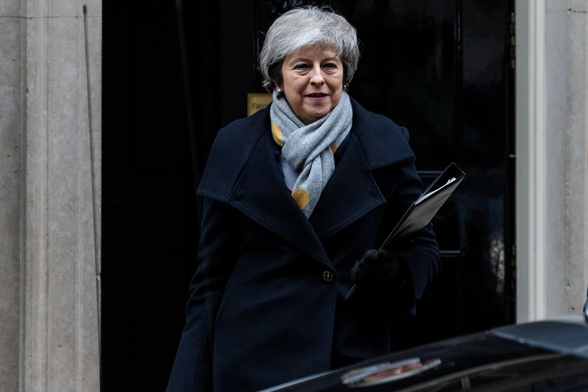 MPs Vote On Theresa May's Brexit Deal