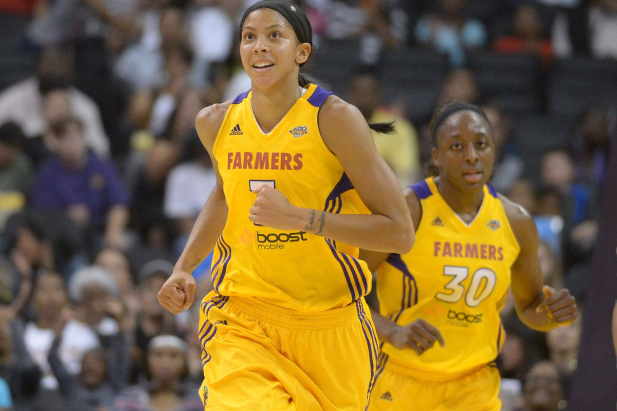 Candace Parker (front) and Nneka Ogwumike form one of the most dangerous front lines in the WNBA, but the question is how to maximize their talent.