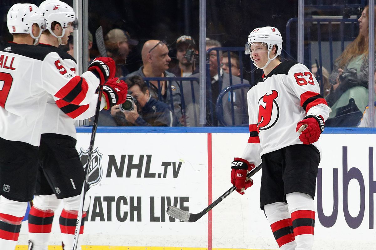 719d5e1a8 Morning Skate  Devils  early season success tied to contributions from  newcomers