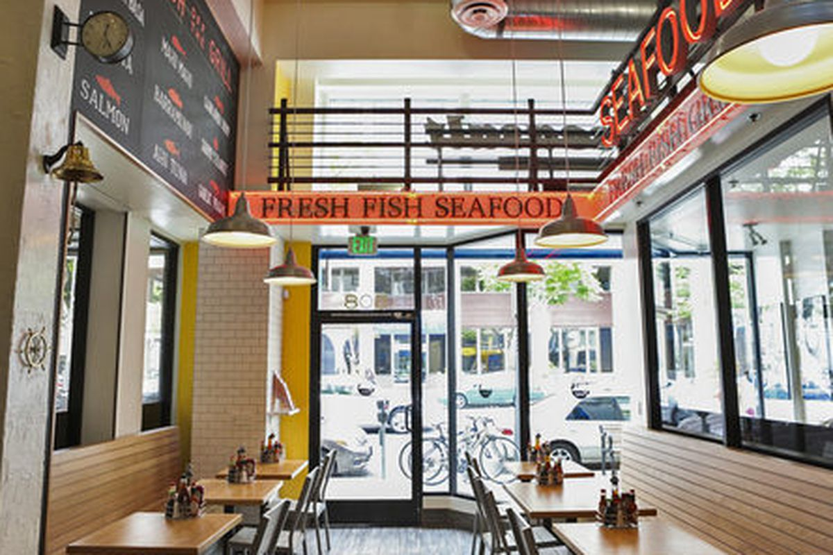 Seasalt fish grill quickly grows with eatery downtown for Fish restaurant santa monica