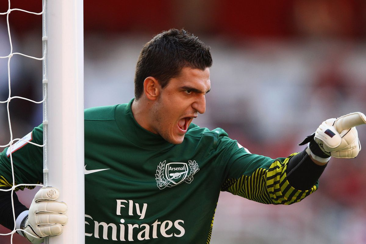 Do not anger Vito Mannone.