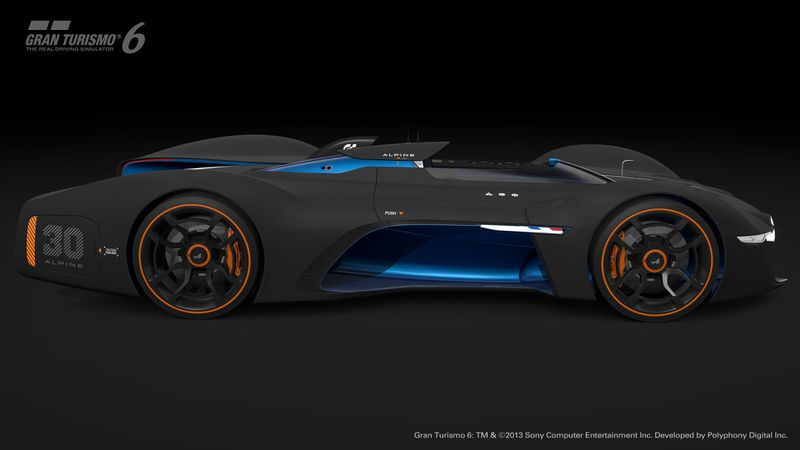 Renaults Alpine Vision Gt Is An Outrageous Race Car For Gran