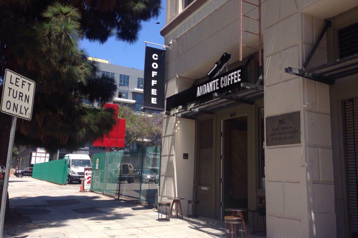 Andante Coffee, Downtown