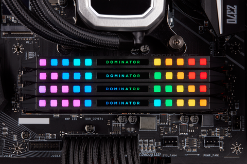 Corsair made new RAM sticks featuring its tiniest LED lights