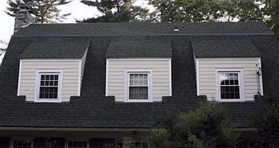 Shed Roof On A House