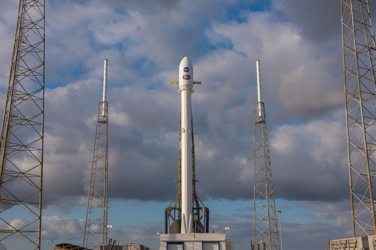 photo image Watch SpaceX launch NASA's new exoplanet-hunting satellite this afternoon