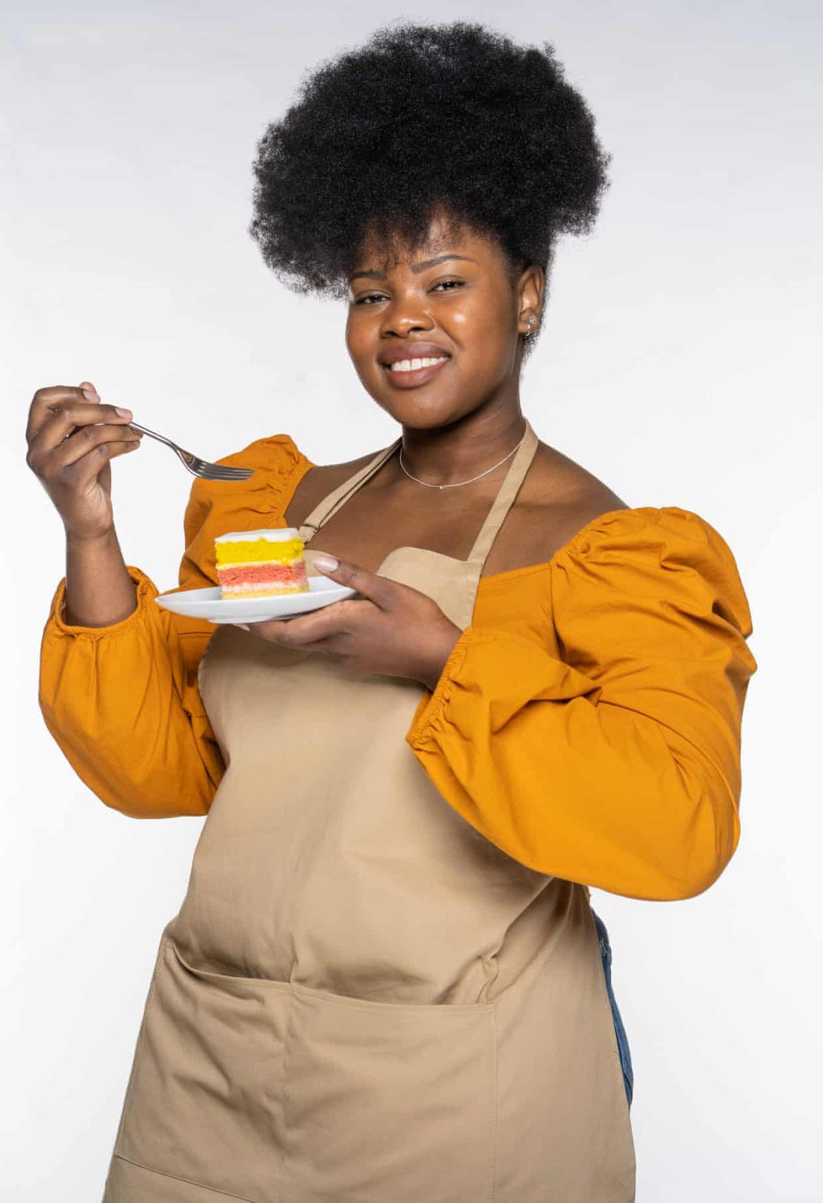 Great British Bake Off 2021 contestant Rochica, who will compete on GBBO this year