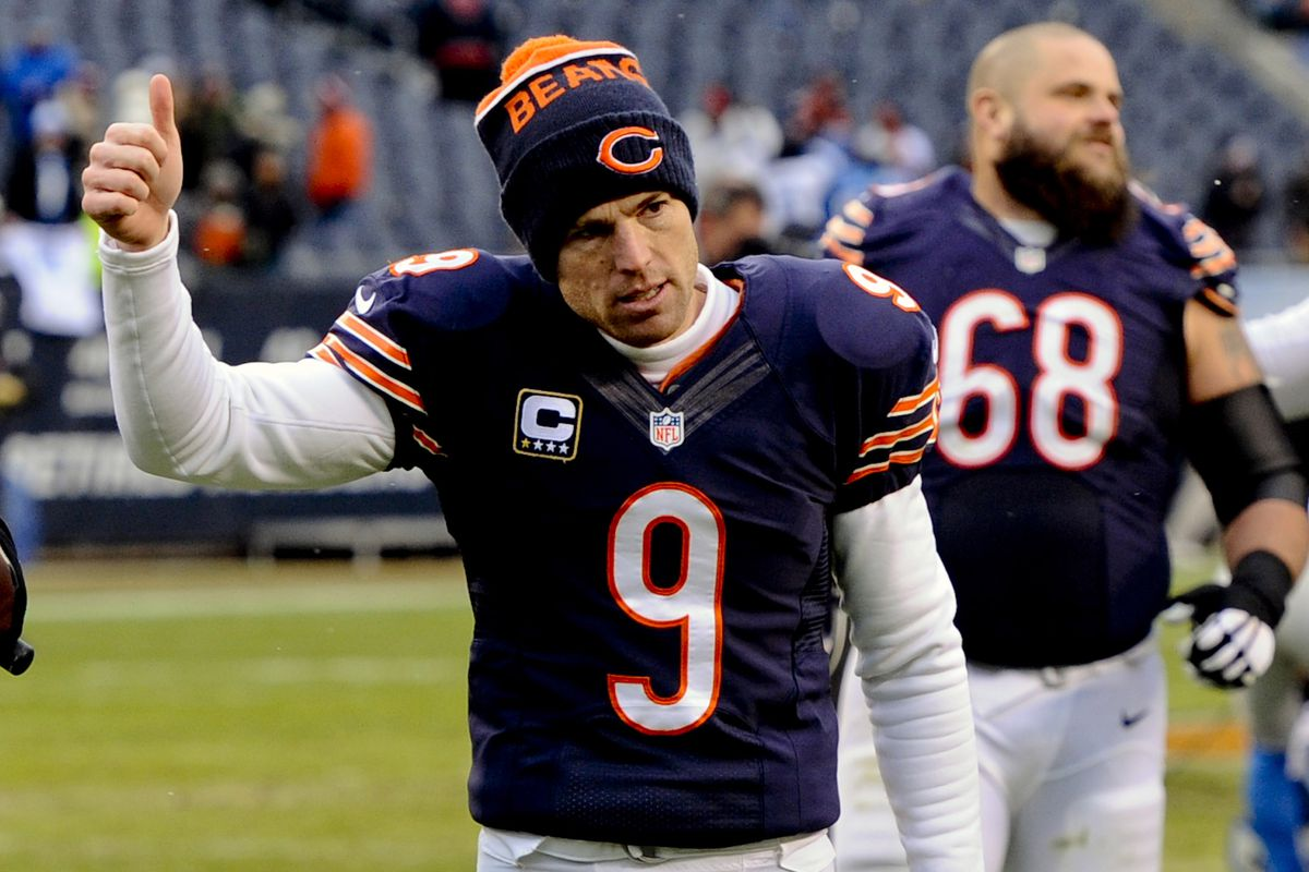 Robbie Gould Says Thank You To Chicago Bears Fans