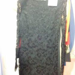 Damaged lace dress, $40