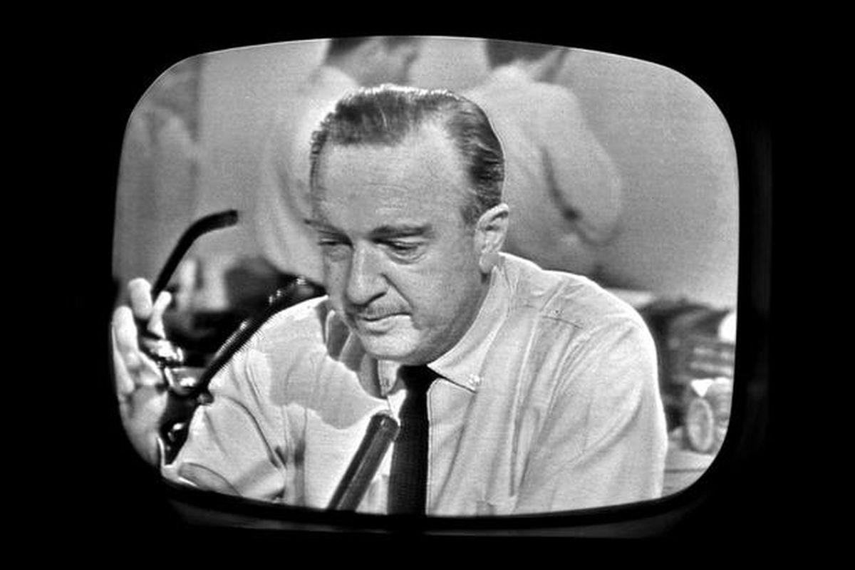 Walter Cronkite CBS JFK Assassination
