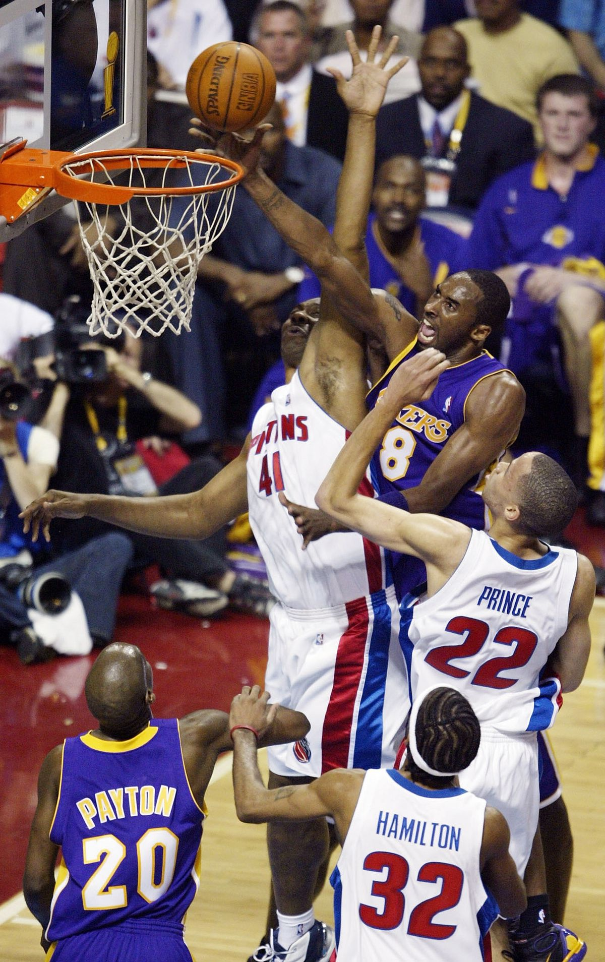 NBA Finals Game 5: Lakers v Pistons
