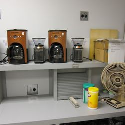 Coffee machines and grinders