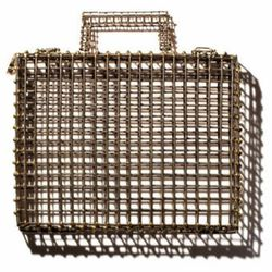 """<a href=""""http://modaoperandi.com/gift-guide-extravagant-gestures/holiday-2012/accessories-934/item/metal-cage-ipad-case-137338"""">Anndra Neen Metal Cage iPad Case</a>, $1,150. Our Apple products are often unpredictable and occasionally defiant, but, come on"""