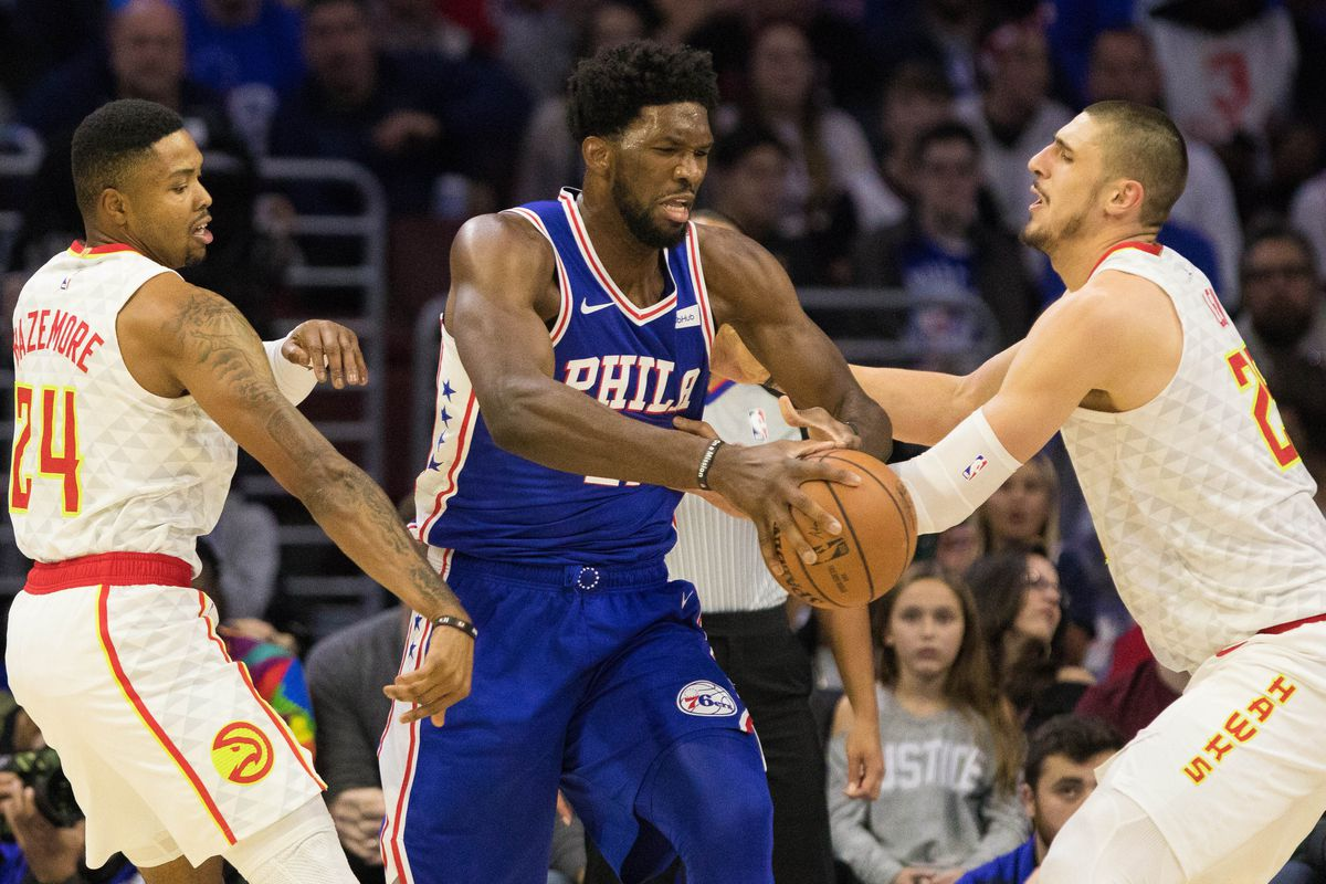 Preview: Joel Embiid's Atlanta debut looms large as Philadelphia comes to town