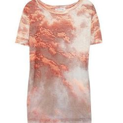"""<a href=""""http://www.net-a-porter.com/product/314703"""">Zot printed linen T-shirt by <b>Étoile Isabel Marant</b>,</a> $66 (was $220)"""