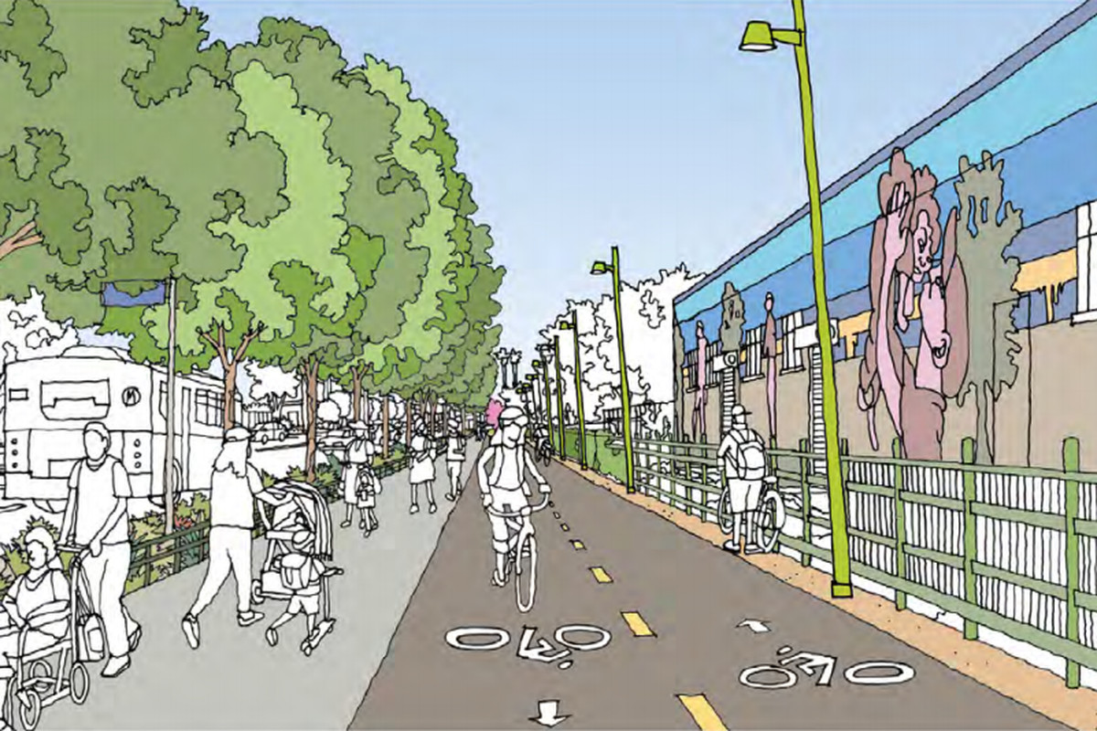 Fresh Renderings Show Off South La S Future Bike And