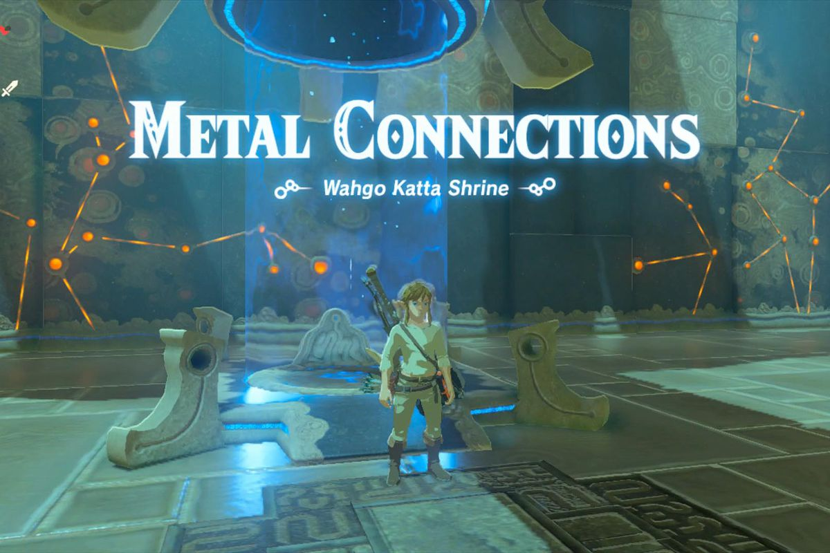Breath Of The Wild Guide Wahgo Katta Shrine Walkthrough