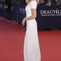 """Elizabeth Olsen at the """"Ruth and Alex"""" premiere at the Deauville American Film Festival in 2015."""