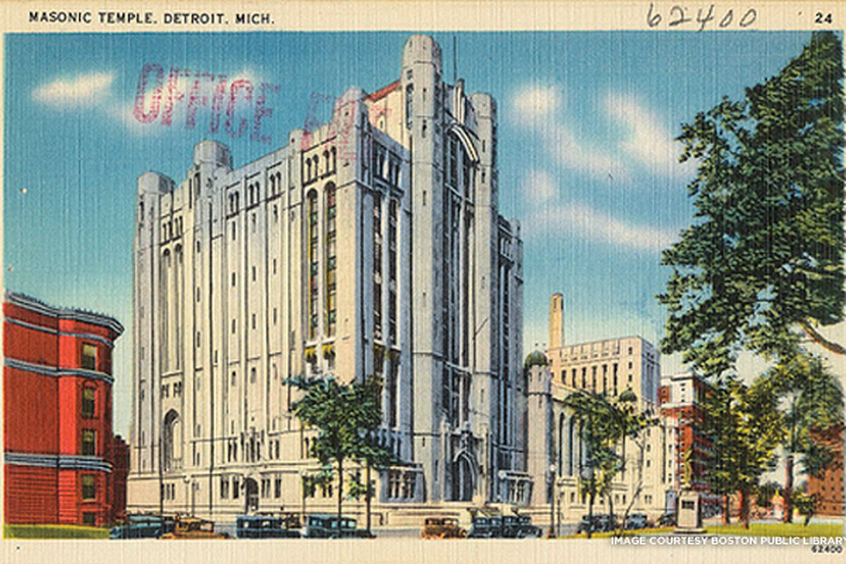 Iconic Detroit Building of the Week: Masonic Temple - Curbed